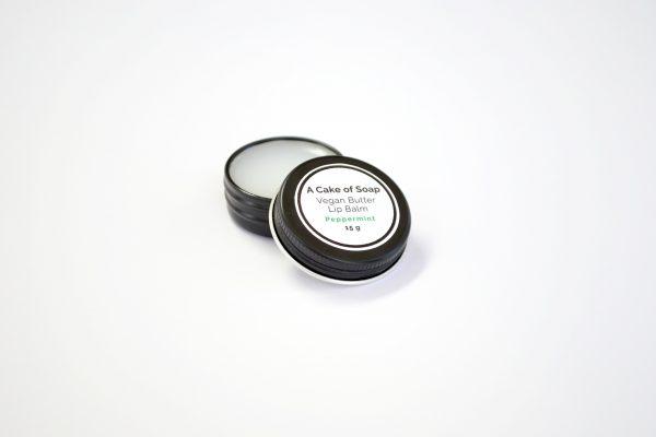 Vegan Butter Lip Balm Peppermint - 15g