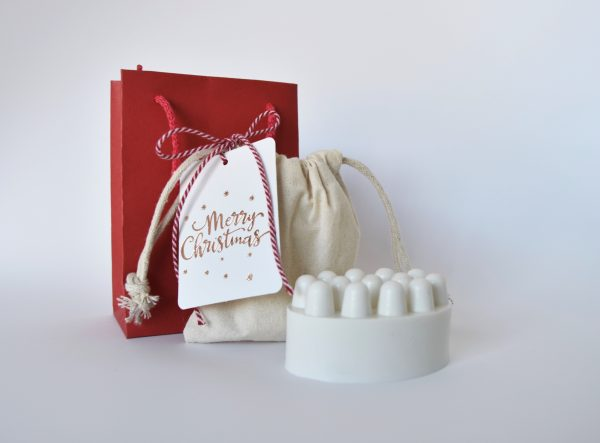 Massage Soap Bar Gingerbread Cookie (Christmas Gift) - 140g