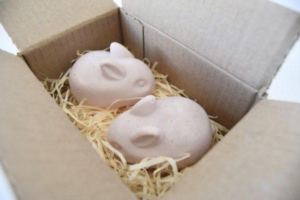 Bunny Box - Pink Clay Rose Vanilla 240g