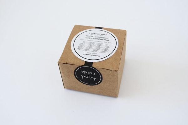 Herbal Decongestant Steam Inhalation Bags (6 bags)